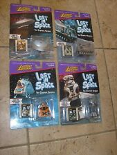 LOST IN SPAC Johnny Lightning Set 4 Space Pod #1 Film Clip B9 Robot #7 Film MOC