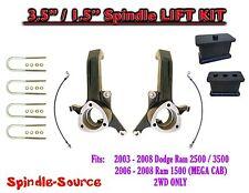"""2003 - 2008 Dodge Ram 2500 3500 (1500 MEGA CAB) 2WD 3.5""""  / 1.5"""" LIFT KIT   UB-I"""