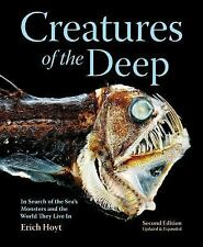 Creatures of the Deep (2nd Edition-Revised & Expanded)-New Illustrated Hardcover