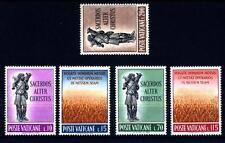 VATICANO - 1962 - Propaganda per le vocazioni sacerdotali - Serie Completa -