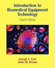 NEW HARDCOVER Introduction to Biomedical Equipment Technology by Brown and Carr