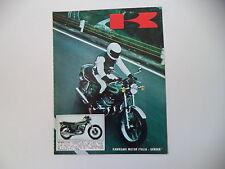 advertising Pubblicità 1973 MOTO KAWASAKI 500 MACH III H1D