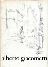 ALBERTO GIACOMETTI - HB CATALOGUE FOR MUSEUM OF MODERN ART EXHIBITION, NEW YORK