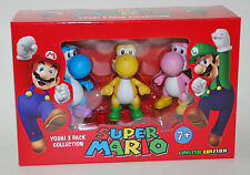 NINTENDO SUPER MARIO YOSHI 3 PACK COLLECTION FIGURE LIMITED EDITION