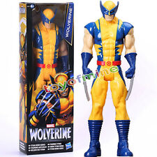 "Wolverine X-Men Action FIGURE Toy The AVENGERS Marvel Titan Hero Series 11"" Gif"