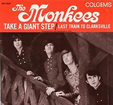 VINTAGE 45 R.P.M. PICTURE SLEEVE - MONKEES Last Train To Clarksville/Giant Step