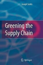 NEW Greening the Supply Chain by Joseph Sarkis Hardcover Book (English) Free Shi