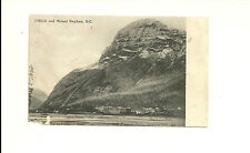 FIELD AND MOUNT STEPHEN, BRITISH COLUMBIA, CANADA POSTCARD