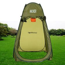 Outdoor Shower Shelter Tent Camping Hiking Privacy Bath Shower Tent Green GDY7