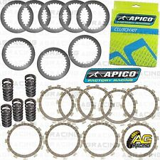Apico Clutch Kit Steel Friction Plates & Springs For Yamaha YZ 250F 2006 MotoX