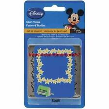 Cuttlebug DISNEY STAR FRAME Cut & Emboss!  Endless Crafts with The Star Frame