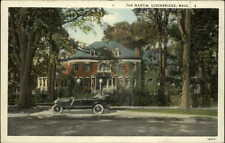 Stockbridge MA The Martin Old Car c1920 Old Postcard