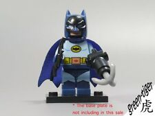 B313 Batman Minifigure Classic Super Heros Batcave series DC Comics lego Custom