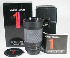 Vivitar Series 1  28-105 f/2.8-3.8 Macro Zoom Lens for Canon FD -EXCELLENT