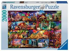 RAVENSBURGER JIGSAW PUZZLE WORLD OF BOOKS AIMEE STEWART 2000 PCS #16685