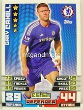 Match Attax 2014/15 Premier League - #058 Gary Cahill - Chelsea
