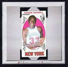 1969 Topps CAZZIE RUSSELL #3 NM-MT **gorgeous basketball card for set** M95D