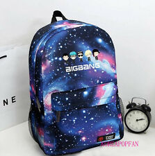 BIGBANG DAESUNG SEUNGRI G-DRAGON TAEYANG BAG BACKPACK SCHOOLBAG BLUE KPOP NEW