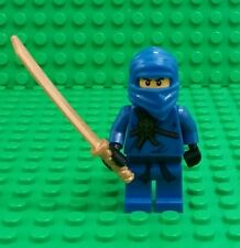 *NEW* Lego Ninjago Blue Jay Ninja Rare Fig Minifigure w Gold Sword Figure x 1