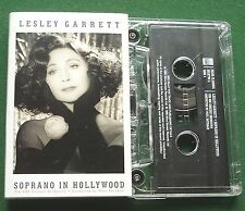 Lesley Garrett Soprano In Hollywood inc One Night Of Love + Cassette Tape TESTED