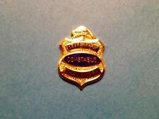 Rare Vintage Shawinigan Quebec Police Constable Jacket Hat Lapel Pin