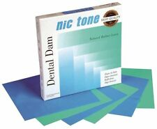 Nic Tone Rubber Dam; SAME PRICE ANY SIZE, 6X6, 5X5, HEAVY, MEDIUM, THIN, MIX