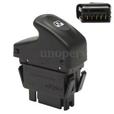 Black 5 PIN Window Control Switch Button For Renault Kangoo Megane MK1 Clio MK2