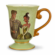 DISNEY DESIGNER FAIRYTALE COUPLE TIANA & NAVEEN Mug New Princess & The Frog