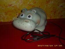 Nilpferd Lampe - Figur Leuchte - Kinderlampe - Schlummerlicht - Heico