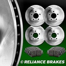 [FRONT+REAR KIT] Reliance *OE REPLACEMENT* Brake Rotors *Plus Ceramic Pads C2675