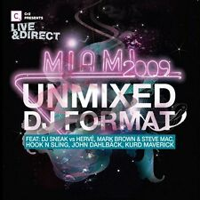Various Artists-CR2 Presents Live & Direct- Miami (Unmixed) CD Limited Edition