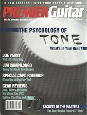 Premier Guitar Issue February 2010 Joe Perry Jim Campilongo Psychology of Tone