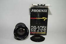 PHOENIX 28-105MM F3.5-4.5 ZOOM MACRO LENS FOR MINOLTA