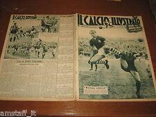 IL CALCIO ILLUSTRATO 1949/23=FIORENTINA INTER 0-3=ATALANTA LIVORNO=