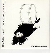 (EH967) Underground Railroad, Sticks and Stones - 2008 DJ CD