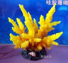1pc fish tank aquarium decoration,artificial silicone sea coral ornament