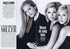 Coupure de presse Clipping 2005 Les Soeurs Miller  (4 pages)