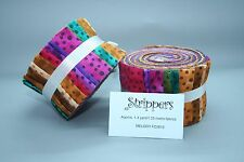 "Fabric Freedom Jelly Roll Strips - Melody - 20 pieces 2.5"" x 44"" FJ5612M"
