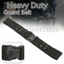Heavy Duty Security Guard Parametic Police Utility Belt Quick Release Waistband