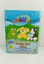 Webkinz Trading Card Album with Code Holds 96 Cards