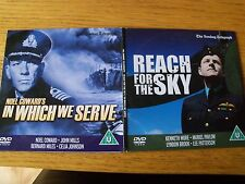 Reach For The Sky /In Which We Serve  dvd promo