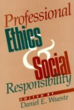 Professional Ethics and Social Responsibility-ExLibrary