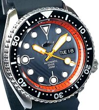 "Vintage mens watch SEIKO diver SKX mod 7S26 w/Black Mother of Pearl ""TUNA"" dial!"