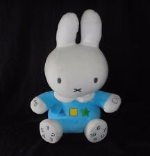 "11"" DUTCH MIFFY TALKING MUSICAL NUMBERS SHAPES STUFFED ANIMAL PLUSH TOY DOLL"