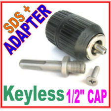 "1 pc SDS plus Adapter & 1/2"" CAP Drill Keyless Chuck sct-888"