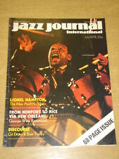 JAZZ JOURNAL INTERNATIONAL VOL 31 #7 1978 JULY LIONEL HAMPTON GEORGE WEIN