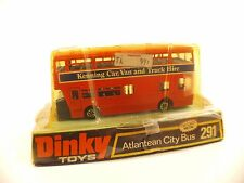 Dinky Toys GB n° 291 Atlantean City bus Kenning car van en boite