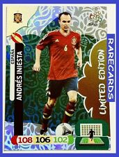 Adrenalyn XL UEFA EURO 2012 Panini ANDRES INIESTA Limited Edition LE-AI