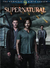 Supernatural: The Complete Ninth Season 9 (DVD, 2014, 6-Disc Set)