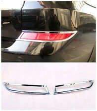 FOR BMW X5 E70 2011 - 2013 ABS Chrome Rear Tail Fog Lamp Light Cover Glossy 2pcs
